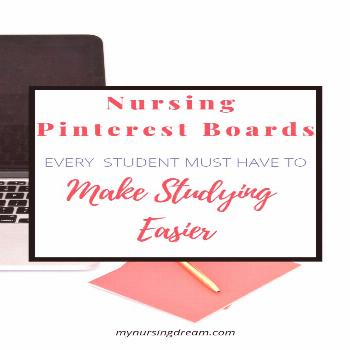 5 Nursing Pinterest Boards to Create to Make Studying Easier. In this post, you'll get tips on boar