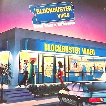 """Don't you wish you could still """"Make it a Blockbuster Night""""? ??"""