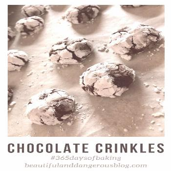 evokes and we even want that in our Enter the that even sounds Christmasy...Chocolate Crinkle. Soun