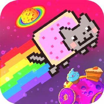 ‎Nyan Cat: Lost In Space on the App Store